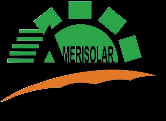 amerisolar logo with shadow